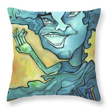 Rain Or Shine Throw Pillow