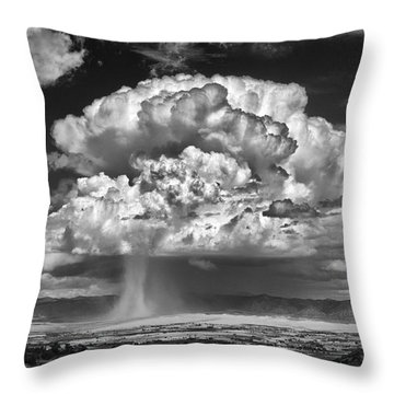 Rain Over Fruita Colorado II Throw Pillow