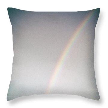 Rainbow #0157 Throw Pillow