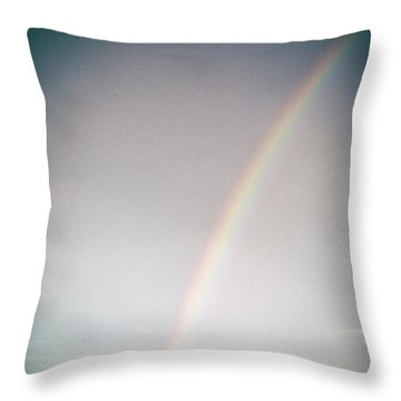 Rainbow #0157 Throw Pillow