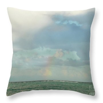 Rainbow 1 Throw Pillow
