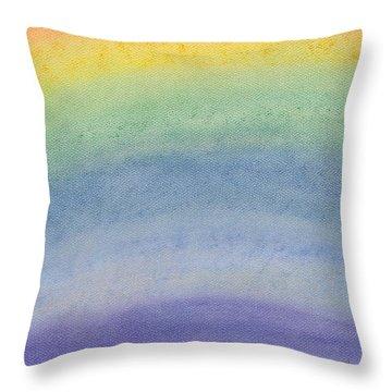 Rainbow Day Throw Pillow