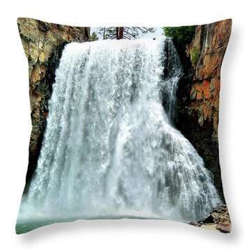 Rainbow Falls 16 Throw Pillow