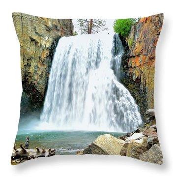 Rainbow Falls 6 Throw Pillow