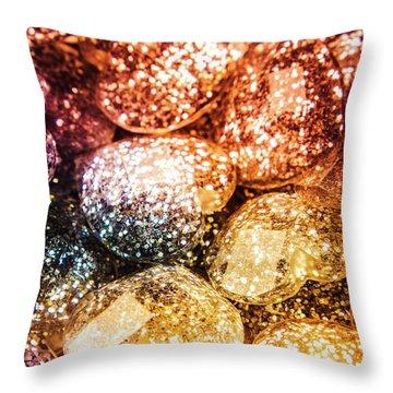 Rainbow Heart Art Throw Pillow