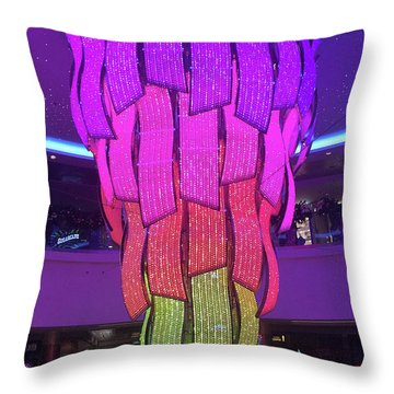 Throw Pillow featuring the photograph Rainbow Light by Karen Zuk Rosenblatt