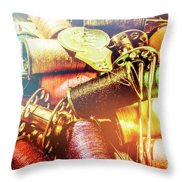 Rainbow Sew Throw Pillow