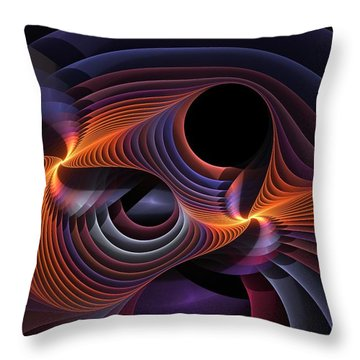 Rainbow Sonata Throw Pillow
