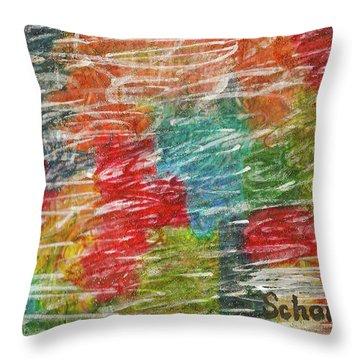 Rainbow Sparkle Throw Pillow
