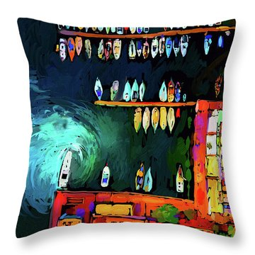 Rainbowts Throw Pillow