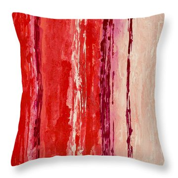 Raindance 2 Throw Pillow by Irene Hurdle
