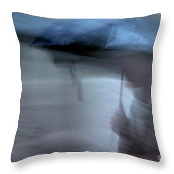 Raining In New Orleans Throw Pillow by Kathleen K Parker