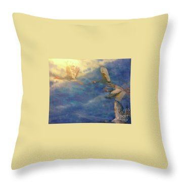 Raining Tears Throw Pillow by FeatherStone Studio Julie A Miller