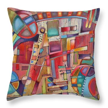 Rainmakers' Circus Throw Pillow
