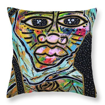 Raise Moor Kings Throw Pillow