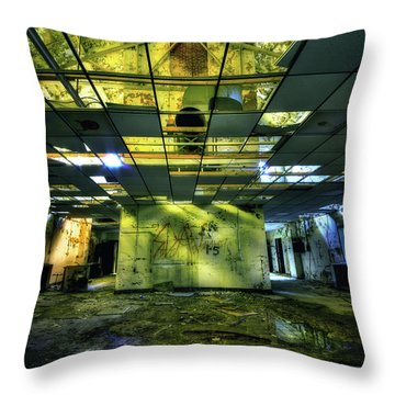 Raise The Roof Throw Pillow