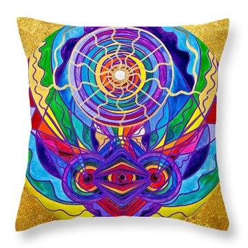 Raise Your Vibration Throw Pillow