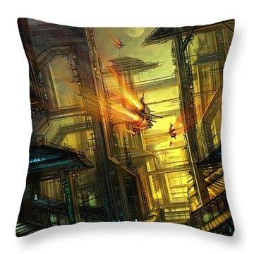 Raison Detre Throw Pillow by Philip Straub