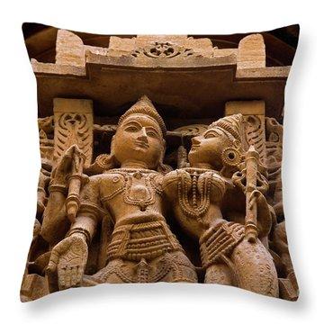 Rajashtan_d293 Throw Pillow