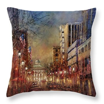 Raleigh Light Throw Pillow