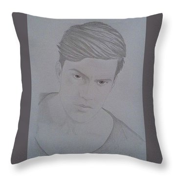 Raleigh Nichols Throw Pillow by Sheila Renee Parker
