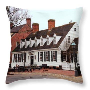 Raleigh Tavern 2 Throw Pillow