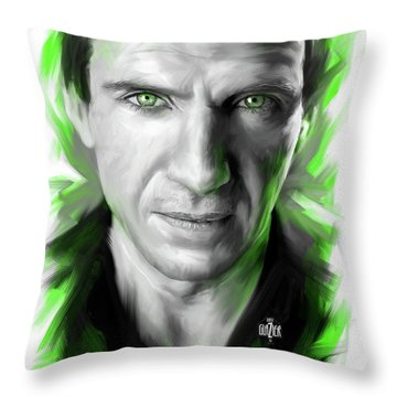 Ralph Fiennes As Lord Voldemort Throw Pillow