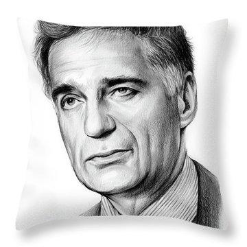 Ralph Nader Throw Pillow