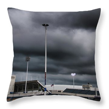 Ralph Wilson Stadium 5803 Throw Pillow
