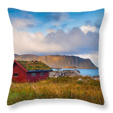 Ramberg Hut Throw Pillow