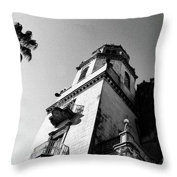 California Castle Throw Pillow