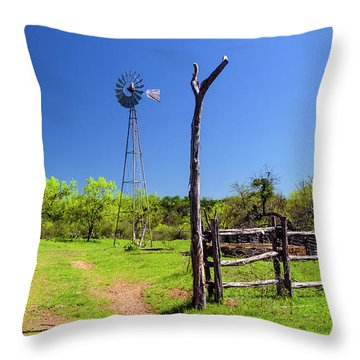 Ranch At Click Gap II Throw Pillow