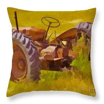 Ranch Hand Throw Pillow