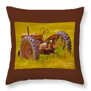 Ranch Hand Throw Pillow