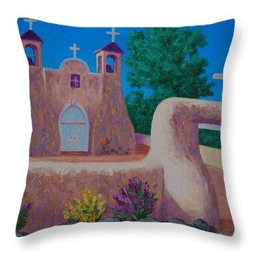 Rancho De Taos II Throw Pillow