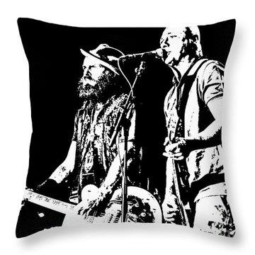 Rancid - Lars And Tim Throw Pillow