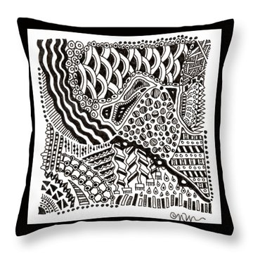 Random IIi Throw Pillow