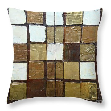 Random Imperfection Throw Pillow