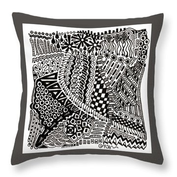 Random Iv Throw Pillow