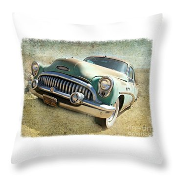 Randsburg Buick Throw Pillow