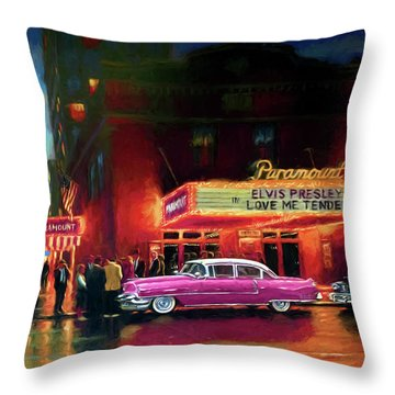 Randy R's Love Me Tender Throw Pillow
