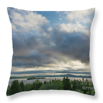 Rangeley Lake Throw Pillow