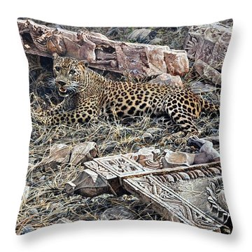 Ranthambore Apparition Throw Pillow