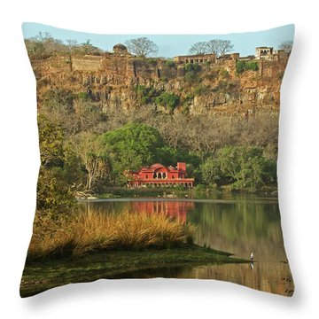 Ranthambore  Throw Pillow