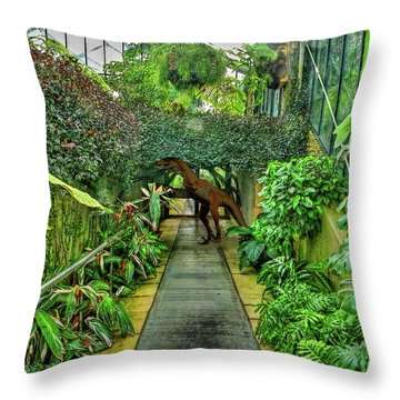 Raptor Seen In Kew Gardens Throw Pillow
