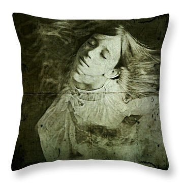 Throw Pillow featuring the digital art Rapture by Delight Worthyn