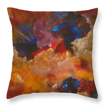 Rapture Throw Pillow