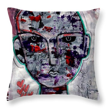 Raptured Throw Pillow