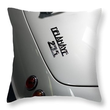 Rare Cabriolet Throw Pillow