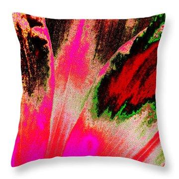 Rare Daylily Throw Pillow